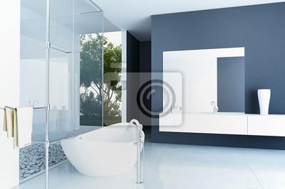 Fototapete: Moderne luxus-badezimmer design interior