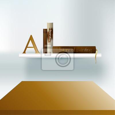 Moderne minimalistische möbel. interior design. bücherregal ...