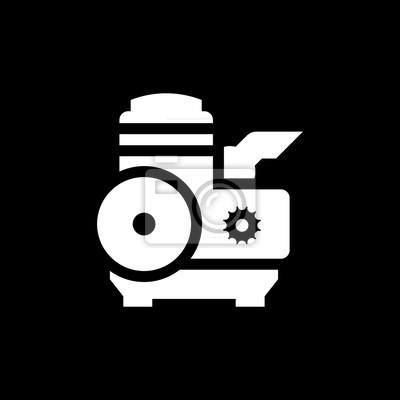 Moderne motor-symbol fototapete • fototapeten Verbrennung, Diesel ...