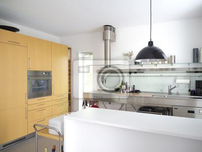Moderne Offene Kuche Fototapete Fototapeten Innenraume