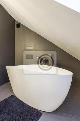 Moderne Ovale Badewanne Fototapete Fototapeten Heimtextilien