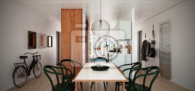 Moderne Studenten Wohnung Moderne Studentenwohnung Fototapete