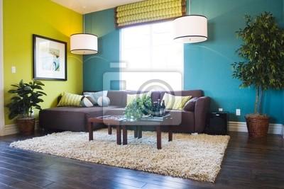 Fototapete Moderne Wohnzimmer