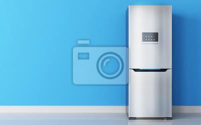 Kühlschrank Edelstahl : Moderner edelstahl kühlschrank fototapete u fototapeten