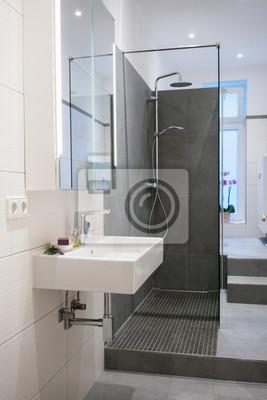 Fototapete Modernes Badezimmer In Einer Altbau Wohnung