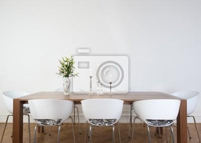 Fototapete Modernes Esszimmer