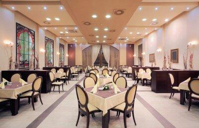 Fototapete Modernes Hotel Restaurant Interieur