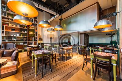 Fototapete Modernes Restaurant