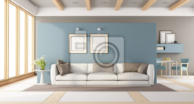 Gut Fototapete Modernes Wohnzimmer