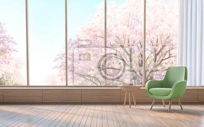 Modernes Wohnzimmer Verzieren Raum Mit Holz 3d Rendering Imagethere