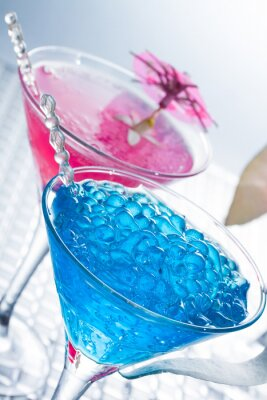 Fototapete Molecular Mixology - Cocktail mit Kaviar