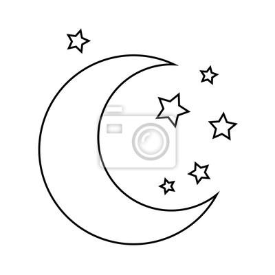 37 Mond Und Sterne Ausmalbilder Besten Bilder Von Ausmalbilder