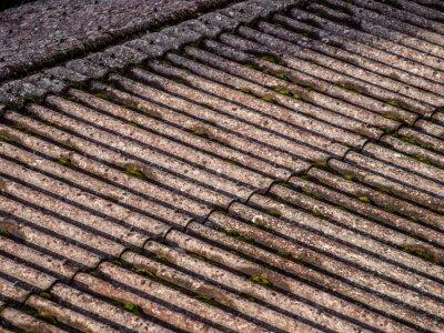 Moos Auf Eternitdach Fototapete Fototapeten Asbest Schuppen