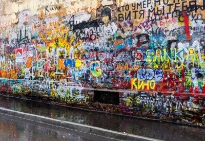 Fototapete moskau Graffiti