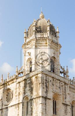 Fototapete Mosteiro dos Jeronimos in Lissabon, Portugal