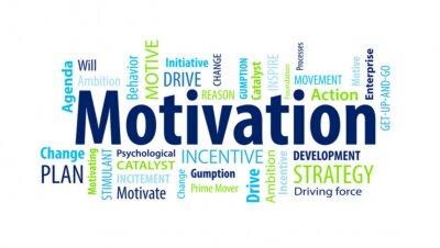 Fototapete Motivation