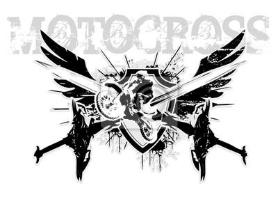 Motocross- Flügel
