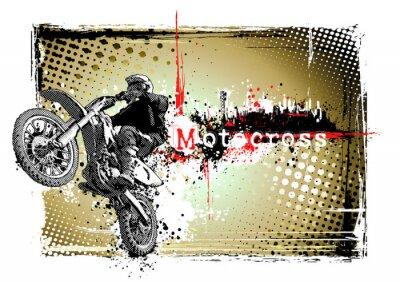 Motocross-Rahmen