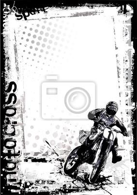 Motocross schmutzigen Hintergrund