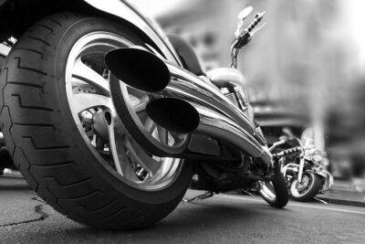 Fototapete Motorrad