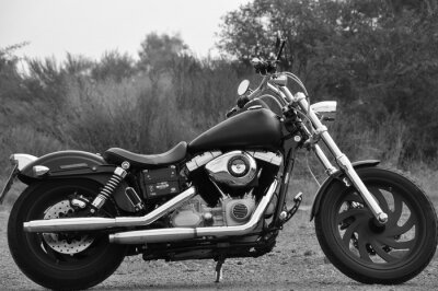 Fototapete Motorrad - Chopper