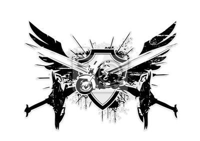 Motorrad Flügel