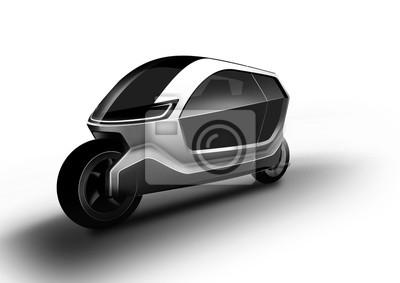 Motorrad ist innovatives, intelligentes und kleines fahrzeug ...