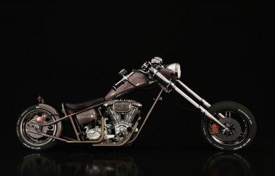 Fototapete Motorrad-Modell