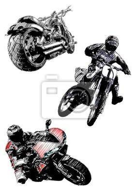 Motorrad Trio