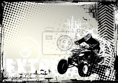 Motorsport -Grunge-Hintergrund