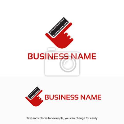 Movie logo entwirft vorlage, ok hand film logo designs fototapete ...