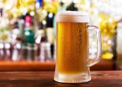 Fototapete mug of beer
