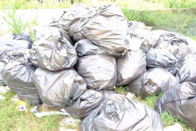 Müll eine Menge von Umweltschäden