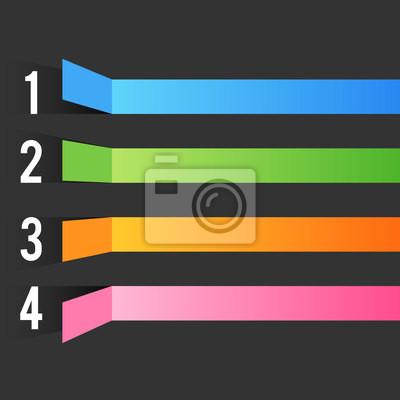multicolor bar Designvorlage