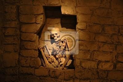 Mumie aus dem alten peruanischen Kultur