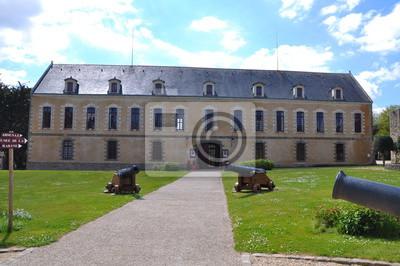 Fototapete Musée de la citadelle vauban von der belle ile en mer