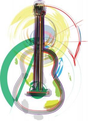 Musikinstrument Vektor-Illustration
