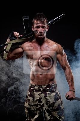 junge nackte soldaten
