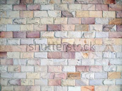 Fototapete Muster an der Mauer