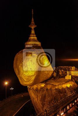Myanmar Kyaiktiyo - Goldener Felsen