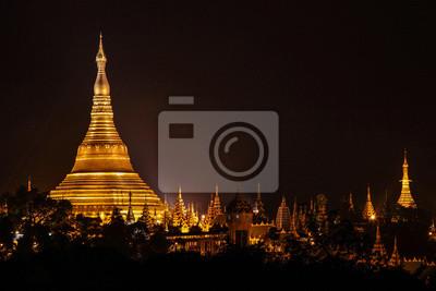 Myanmar-Yangon - Shwedagon-Pagode