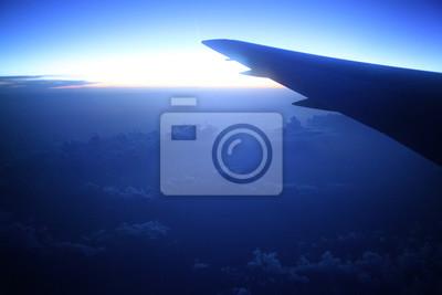 Nacht Blick Aus Dem Flugzeug Fototapete Fototapeten Tour Tourismus