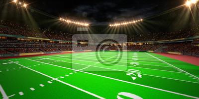 Nachtfußballarena Stadion machen