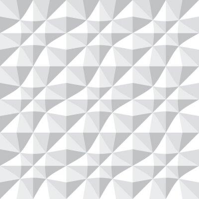 Fototapete Nahtlose 3d Muster.