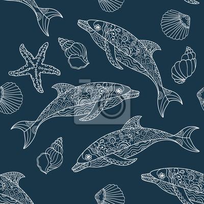 muster delfin