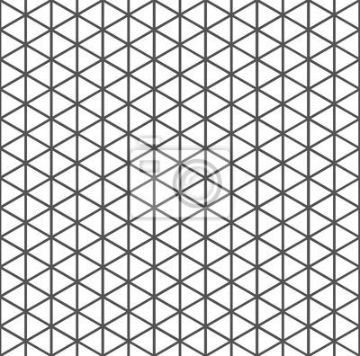 Poster Abstrakt Dreieck Muster Pixers Wir 7