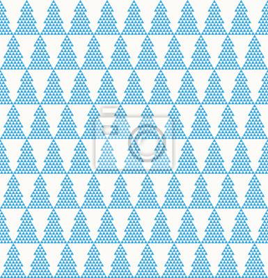 Tannenbaum Muster.Fototapete Nahtlose Einfache Vektor Tannenbaum Muster Von Dreiecken