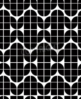 Nahtlose Geometrische Fliesen Muster Im Vintagestil Vektor - Fliesen vintage stil
