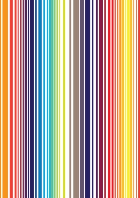 Fototapete Nahtlose helle farbenreiche Streifenmuster. Vektor-Abbildung f
