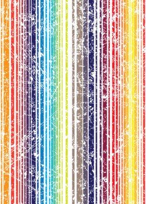 Fototapete Nahtlose helle grunge Art schäbiges farbenreiches Streifenmuster. V